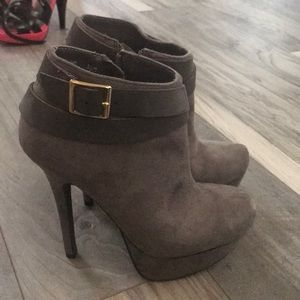 JustFab heel boot
